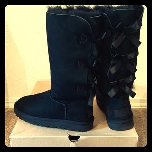 W Bailey Bow Tall ll Blk